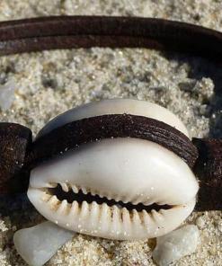 Surferarmband Kauri Muschel Armband