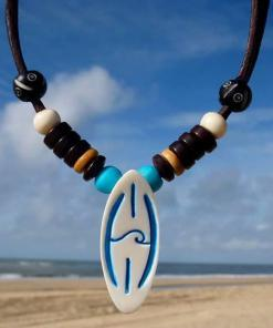 Surferkette Halskette Surfboard Necklace