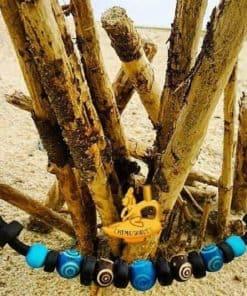 Surferhalkette Indianer Lederhalskette