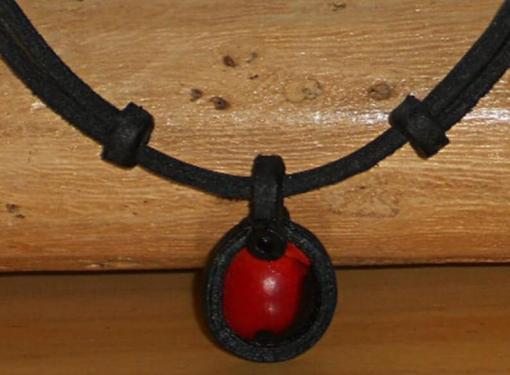 Indianer Halskette Huayruro Energie