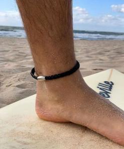 Leder Fußkette Fußband Fußkettchen