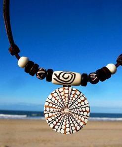 Muschelkette Hawaii Halskette Damenkette