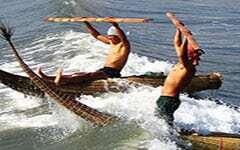 ChimuwavesGeschichte Surferkette Fußkette Maori Kette Muschelkette