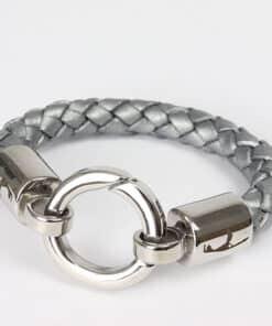 Boloband Ringkarabiner Damenarmband Männerarmband