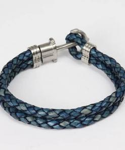 Maritime Anker Armband Dunkelblau